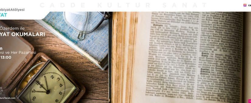 Edebiyat Okumaları Sabriye Özerdem